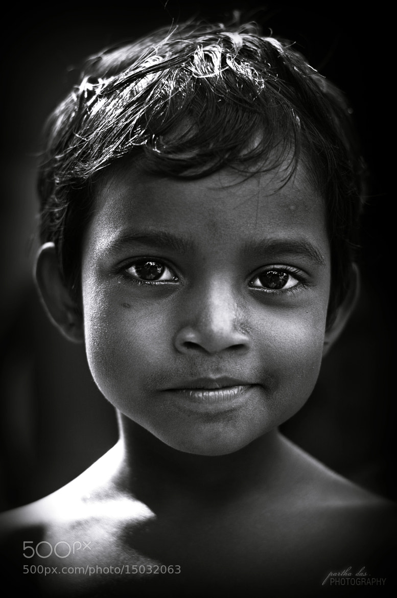 Photograph her smile! by Partha Das on 500px