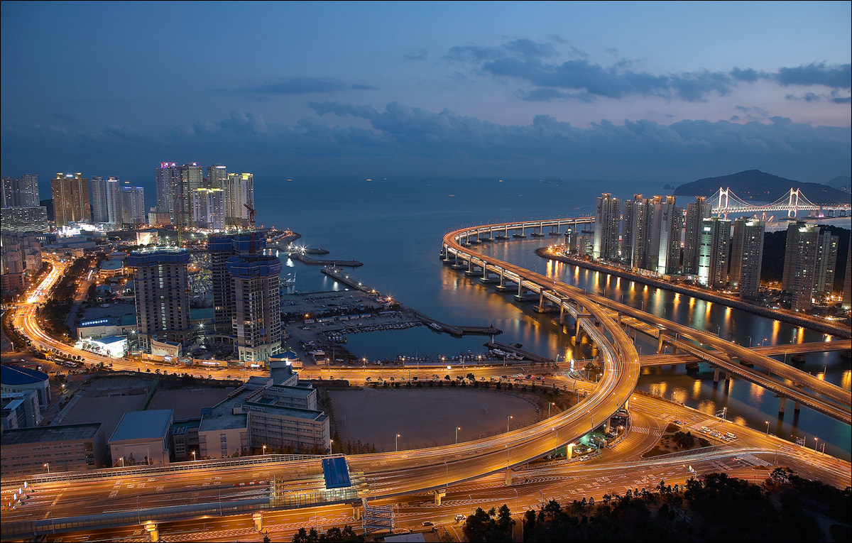 Photograph Nightview of Busan by keehwan Kim on 500px