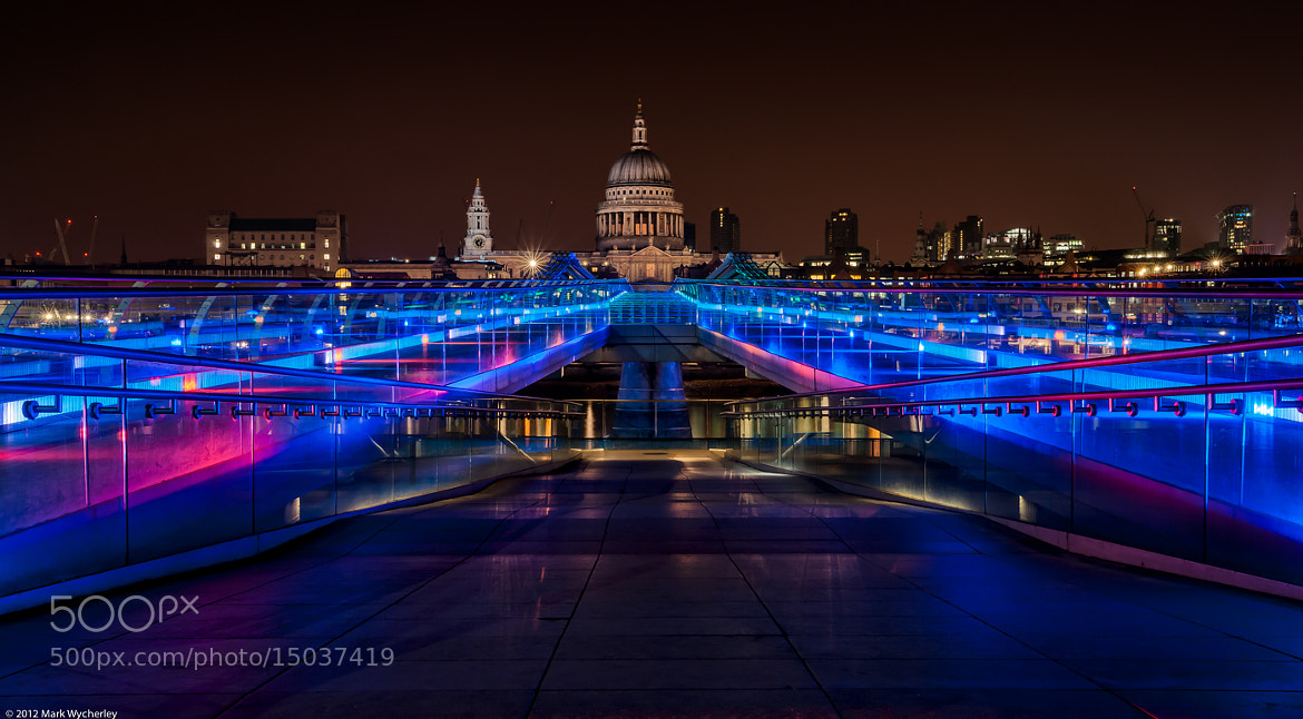 Photograph Millenium blues by Mark Wycherley on 500px