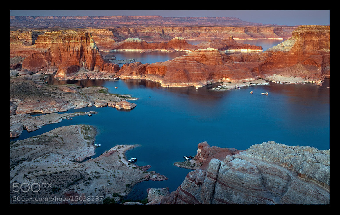 Photograph Alstrom Point, USA by Yury Pustovoy on 500px