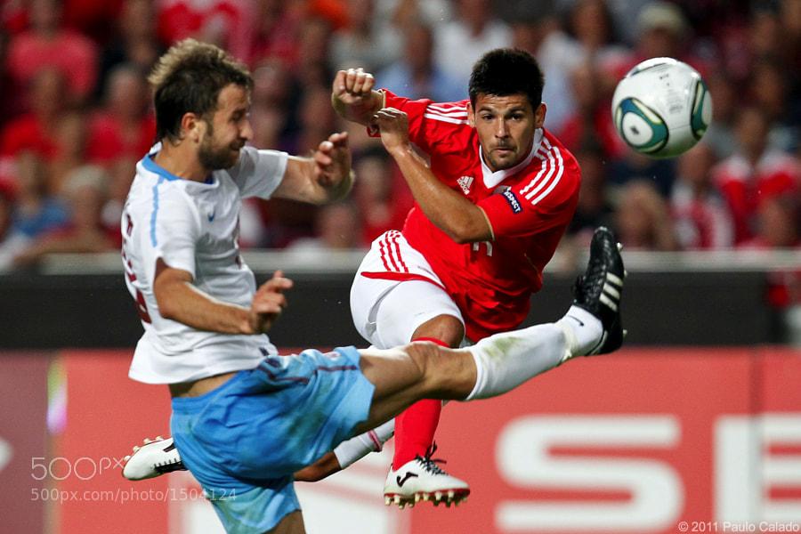 Nolito, Benfica vs Trabzonspor, Champions League, 27 de Julho de 2011, Estadio da Luz, Lisboa, Foto Paulo Calado