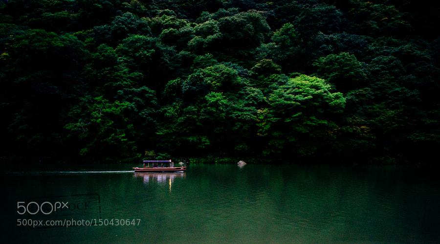 Boat in Arashiyama