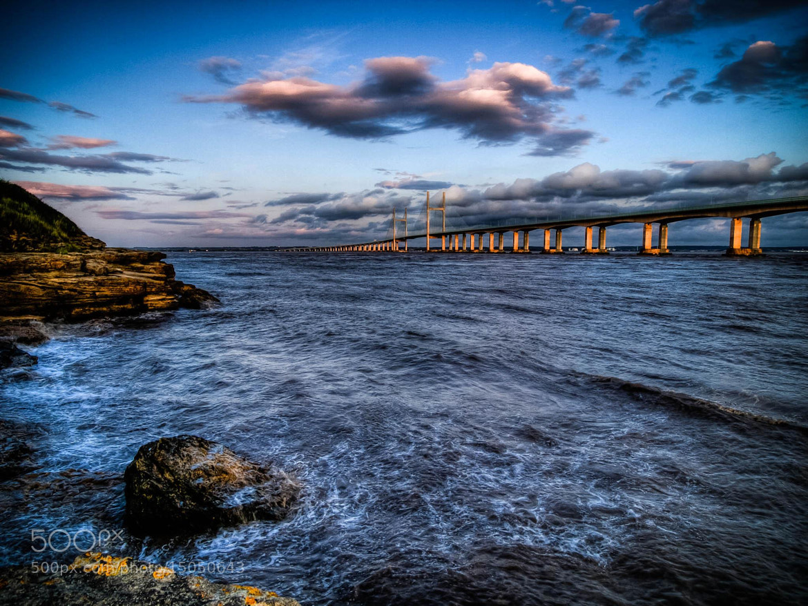 Photograph Twilight at the second severn crossing. by Hugh Jones on 500px