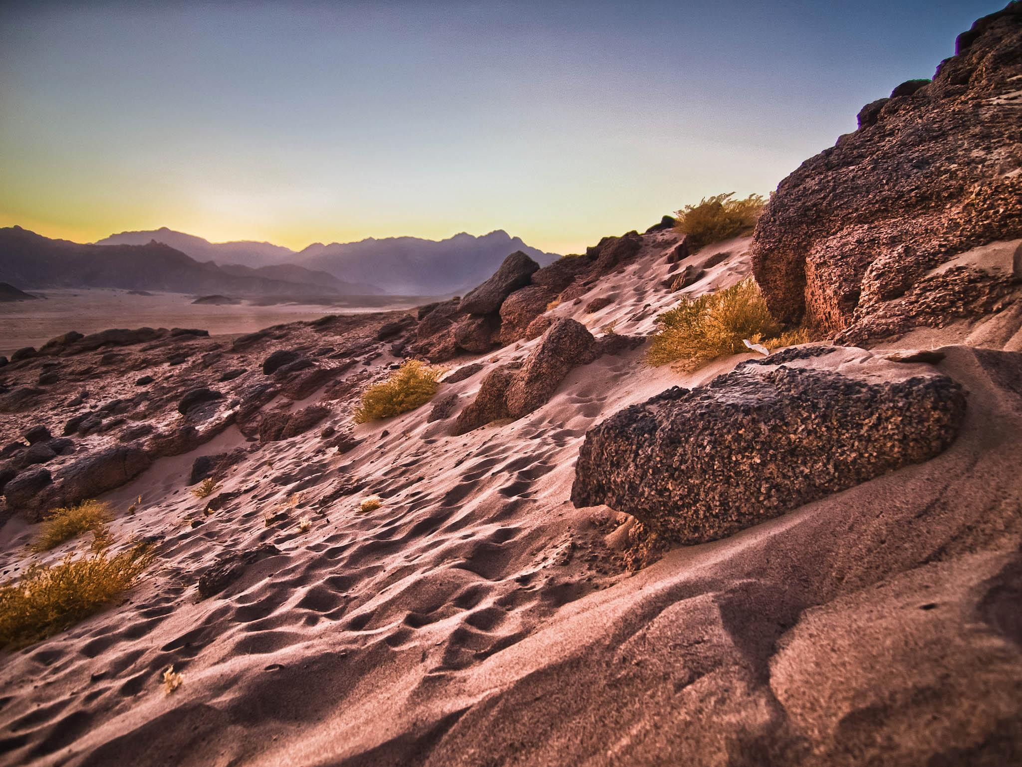 Photograph Sinai desert sunset, Sharm El Sheikh by Hugh Jones on 500px