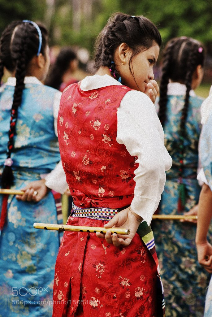 Photograph Tibetan Girl by Arun J Bharali on 500px