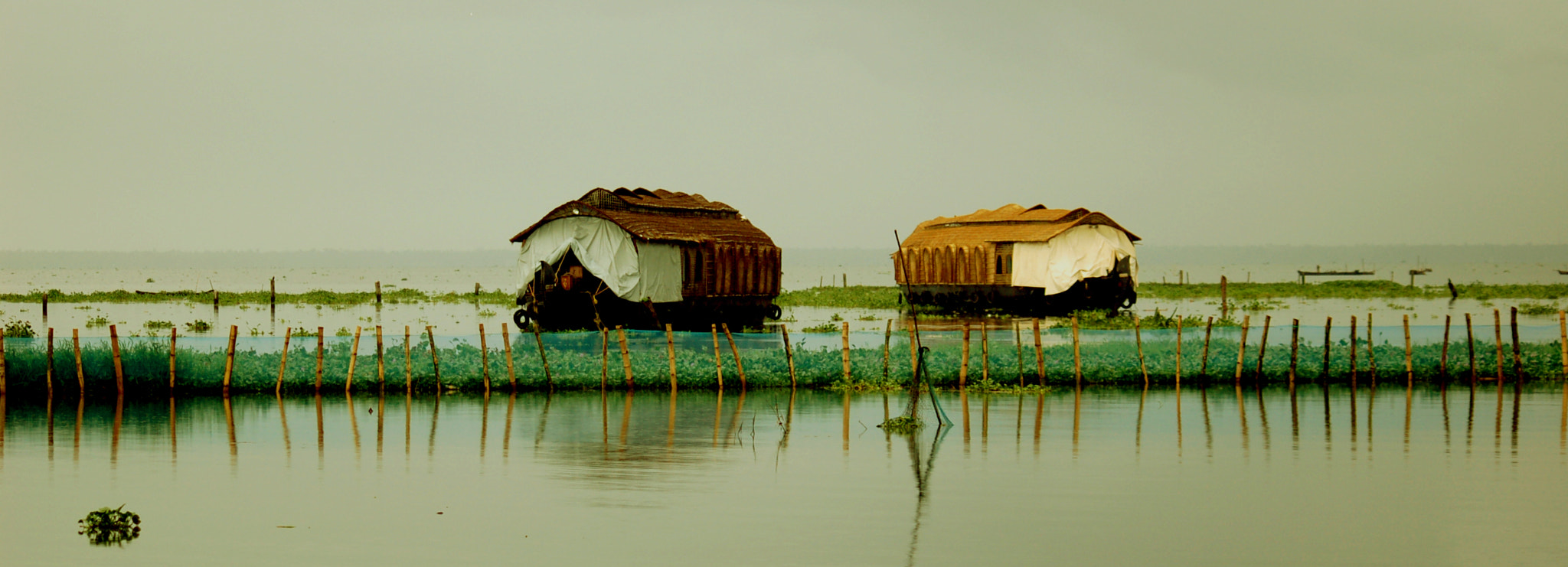 Photograph House boats in Kerala by Sisyphus R on 500px