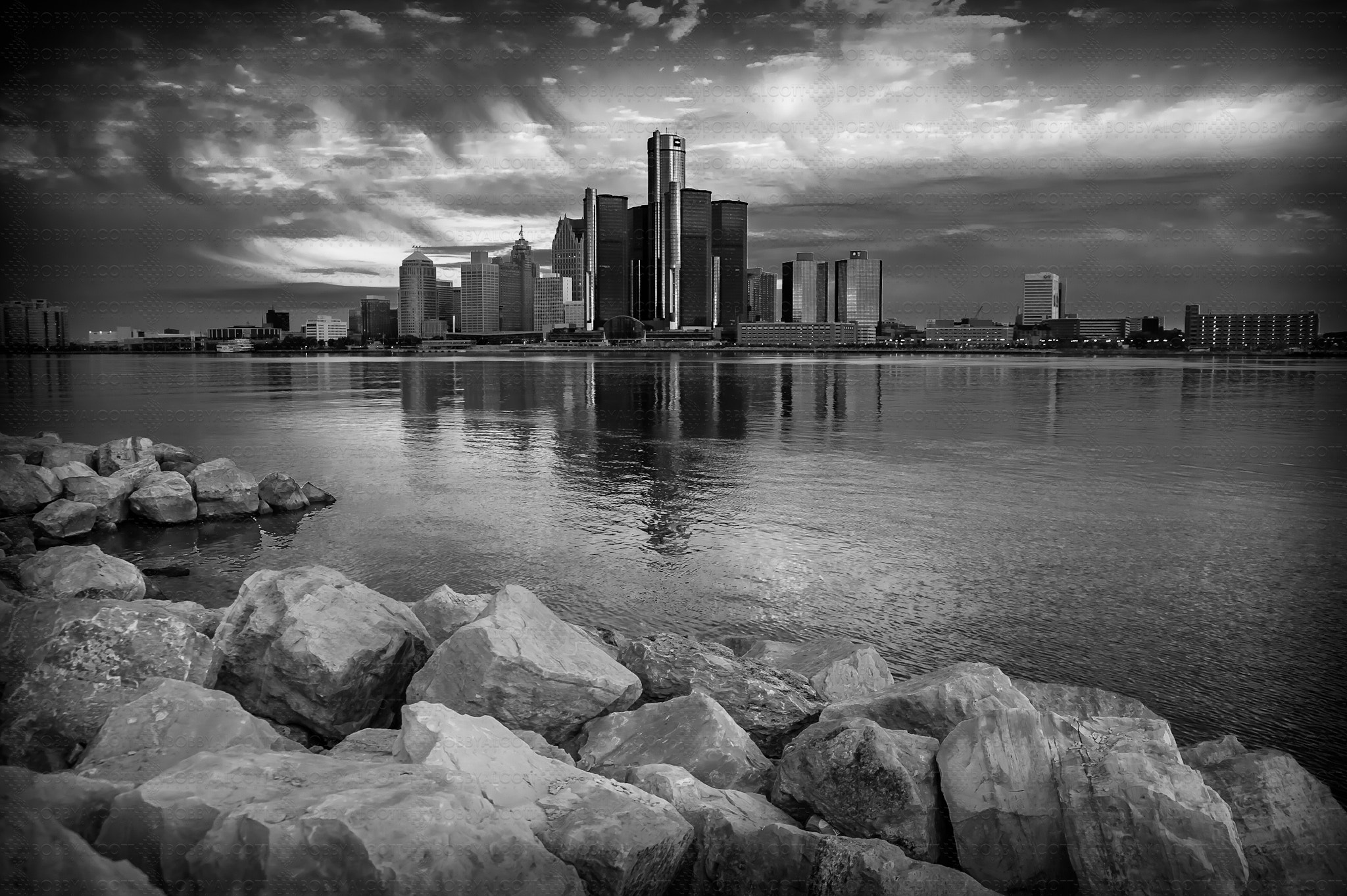 Photograph Detroit at Dawn by Bobby Alcott on 500px