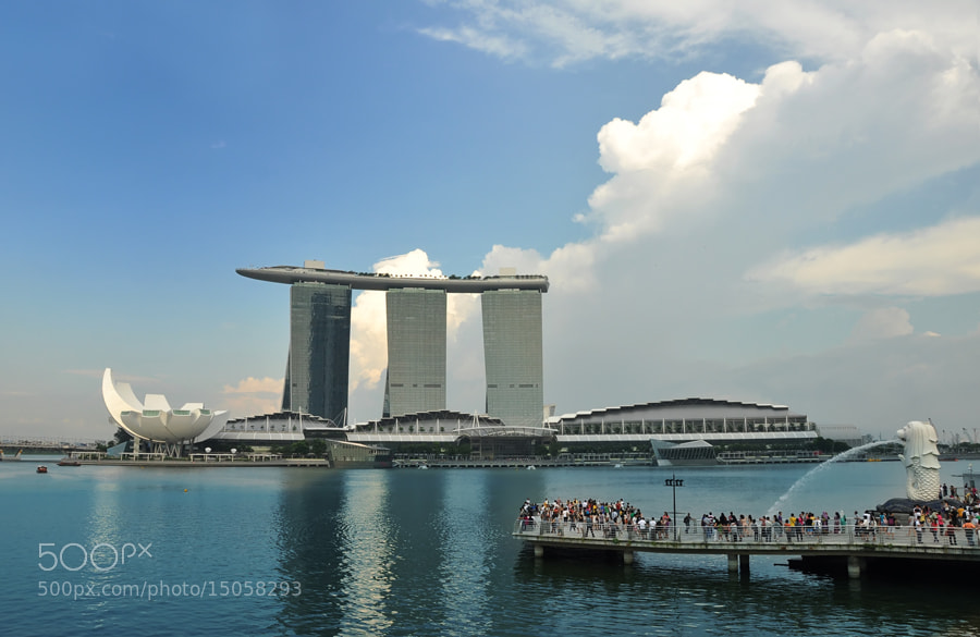 Photograph A view from Esplanade by Khoo Boo Chuan on 500px