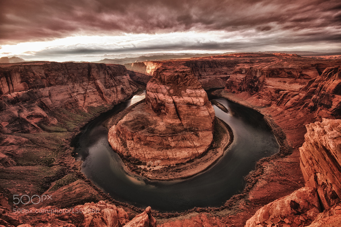 Photograph horseshoe bend by Ramon Salazar on 500px