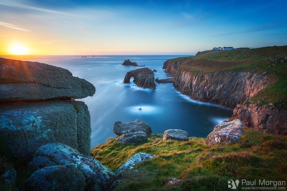 Photograph Land's End Last Light by Paul Morgan on 500px