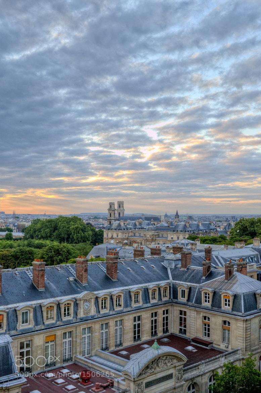 Photograph Paris Sunset by Ryan Maddux on 500px
