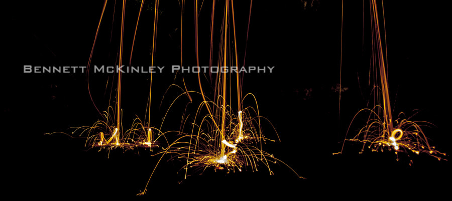Photograph Splashes of Fire by Bennett McKinley on 500px