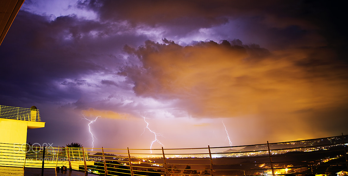 Photograph Chain Lightning by Kayman Studio on 500px