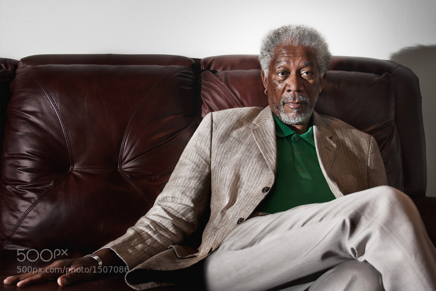 Morgan Freeman by Nathaniel Chadwick on 500px.com