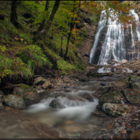 Stegovnik Falls by Jaro Miscevic (jaromiscevic)) on 500px.com
