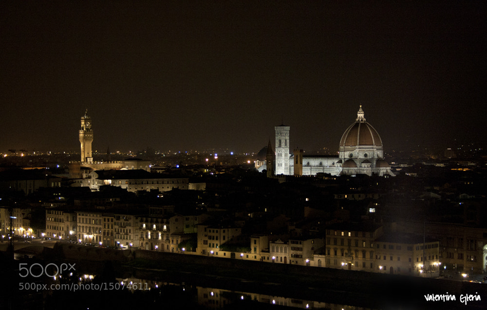 Photograph Florence by nignt by Valentina Gleria on 500px