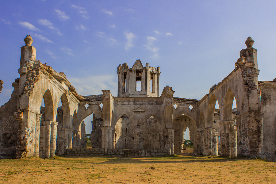 Ruins of the Shettihalli Church by Vivek Pandey on 500px.com