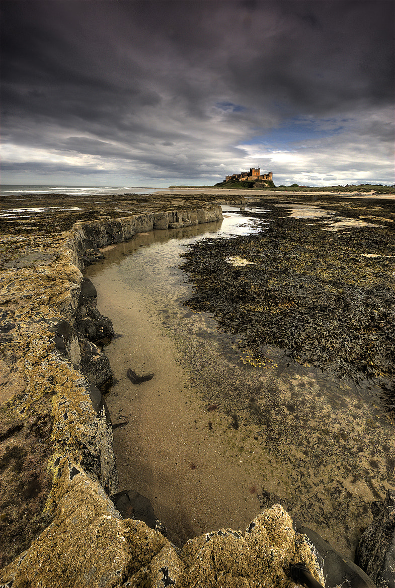 Photograph Storm clouds over Bamburgh Castle. by Trevor Wain on 500px