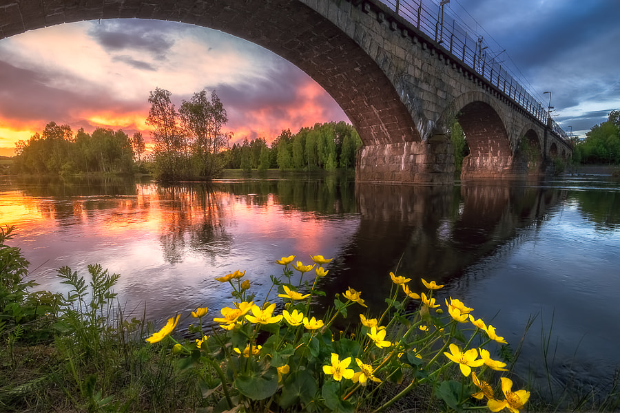 Fine Art Landscape Photo, On the Other Side by nature and landscape photographer Ole Henrik Skjelstad