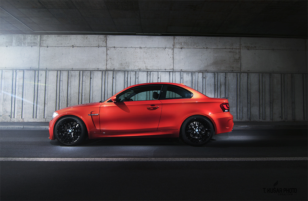 Photograph BMW 1M / red rocket by Tine Kušar on 500px