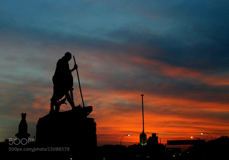 Photograph Mahatma Gandhi @ his Birthday !!! by Narasimhan N on 500px