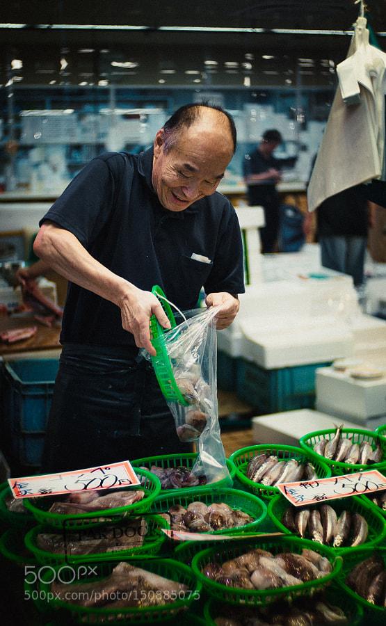 Omicho Market - Kanazawa