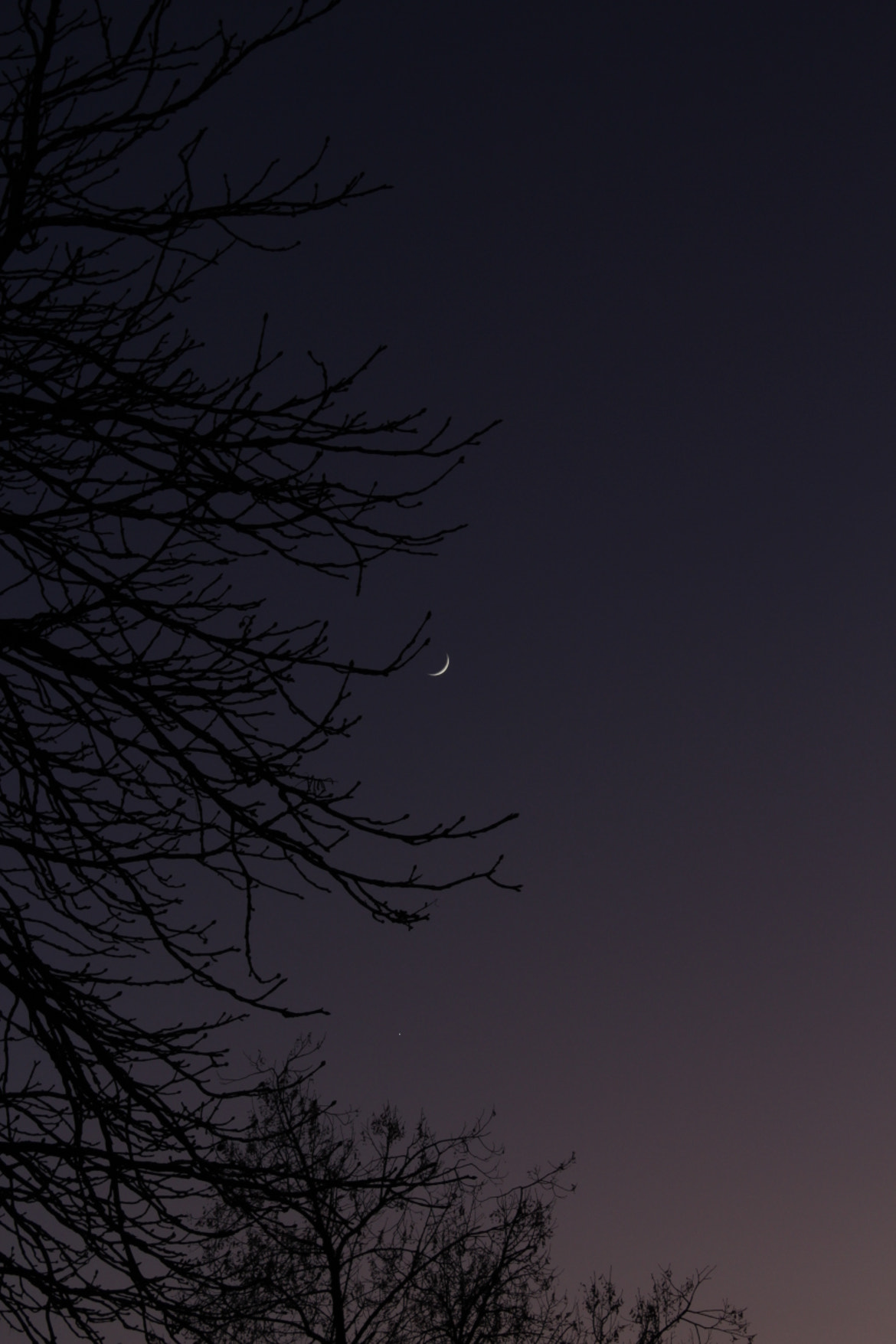 Photograph crescent at the sky by JPMT Photography on 500px