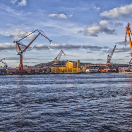 The hands of Gothenburg, Canon EOS 1200D