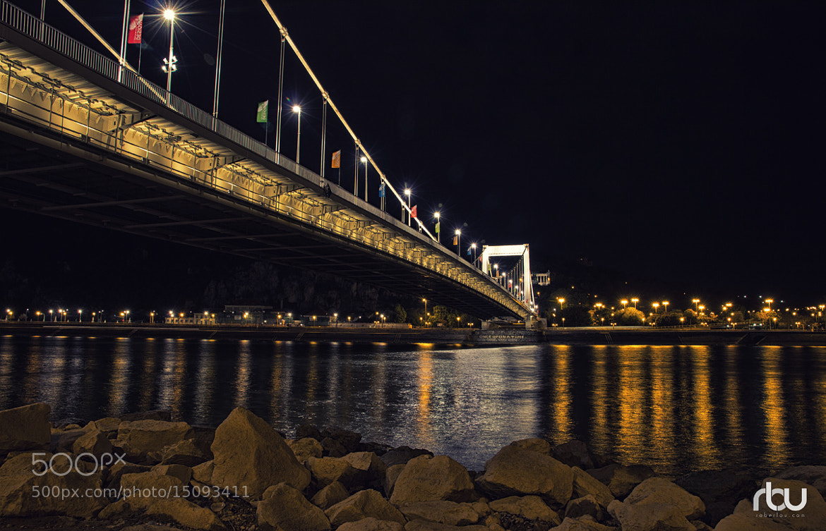 Photograph Bridge Budapest Down by Rober Lou on 500px