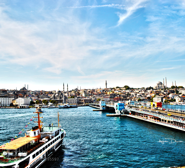 Photograph Istanbul Golden Horn and Galata Bridge by Ayhan Duran on 500px
