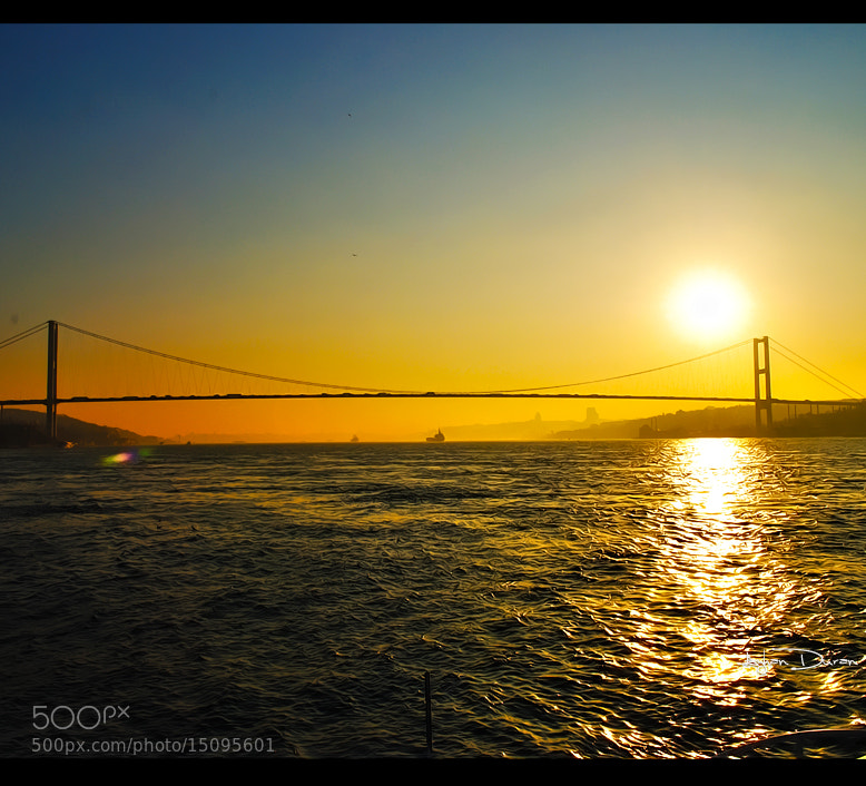 Photograph Istanbul Strait and Sunset by Ayhan Duran on 500px