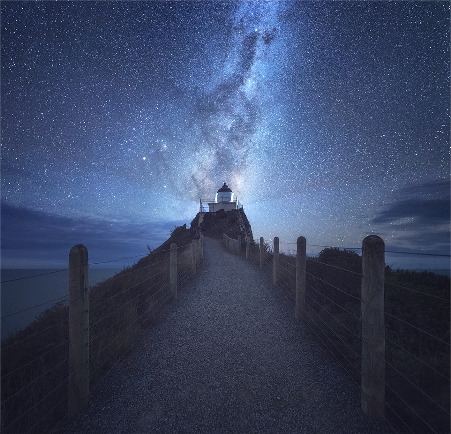 Milky Way over Nugget Point de Jimmy Mcintyre en 500px.com