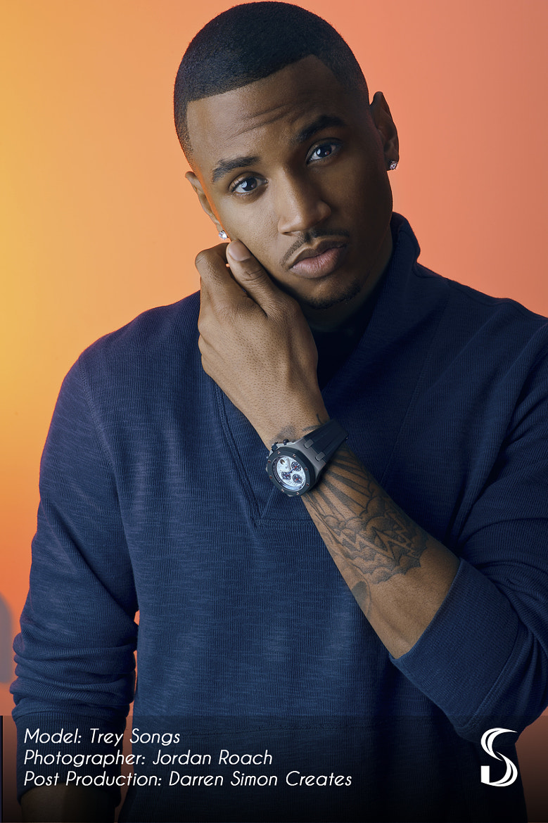 Photograph Trey Songz, Singer, Song writer by Darren Simon on 500px