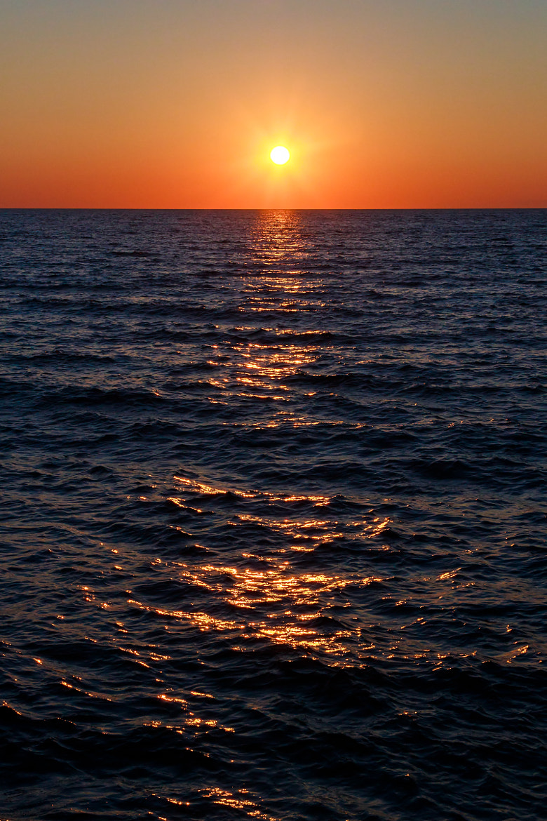 Photograph Lake Michigan Sunset by Kenneth Keifer on 500px