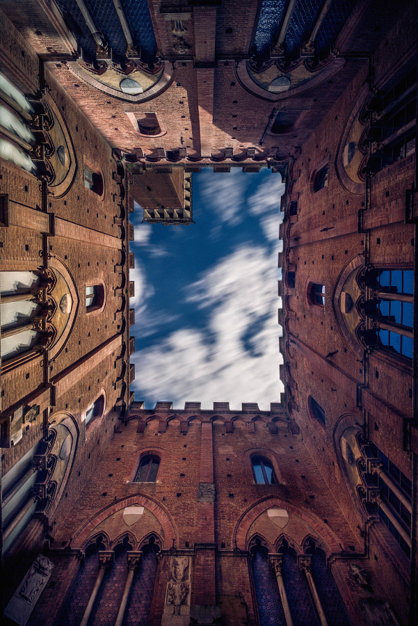 Palazzo and clouds by Fabrice Bisignano on 500px.com