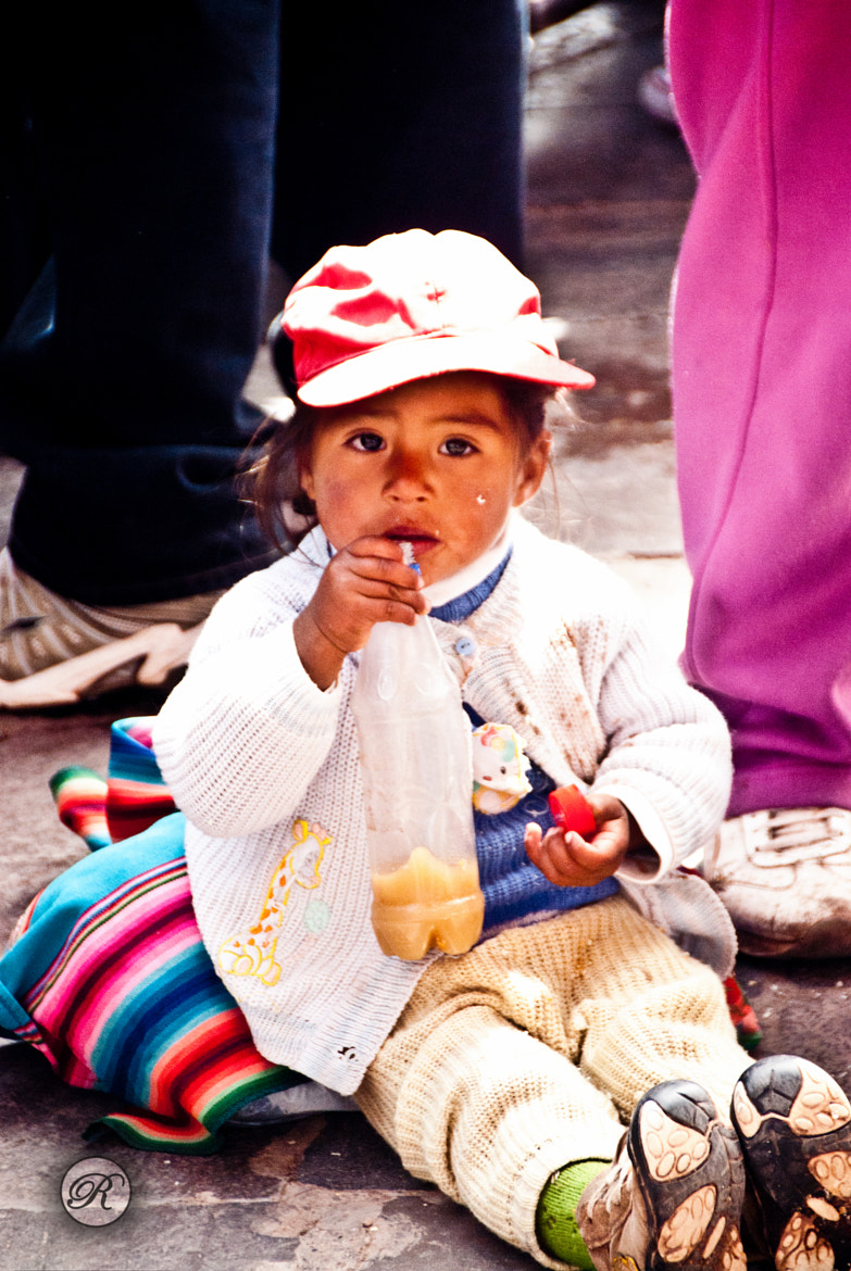 Photograph Peruvian Child  by Connie Sun on 500px