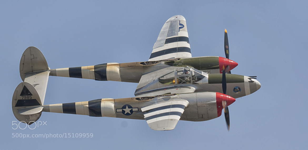 Photograph P-38 Lightning by Richard  Small on 500px