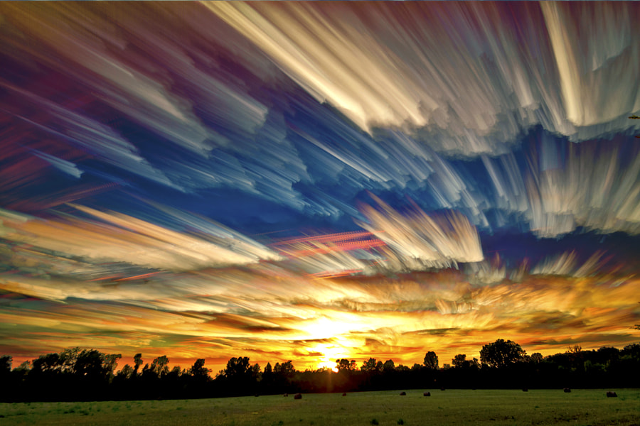 Photograph Smeared Sky by Matt Molloy on 500px