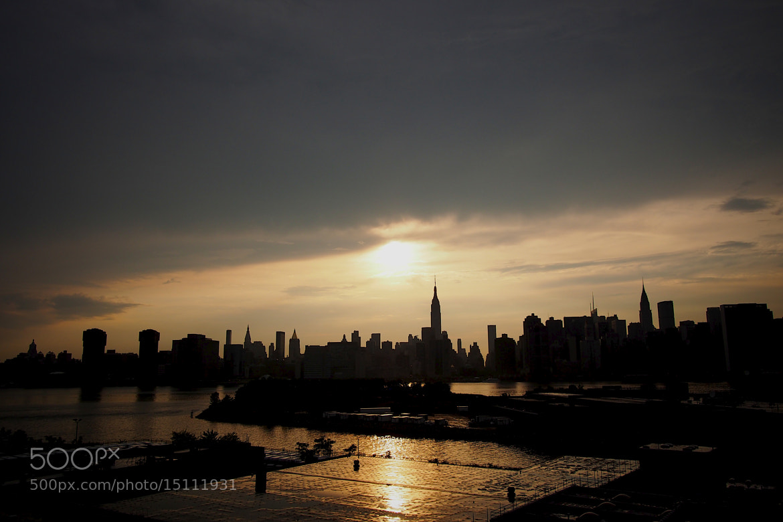 Photograph Sunset Big Apple by Koichi Fukuda on 500px
