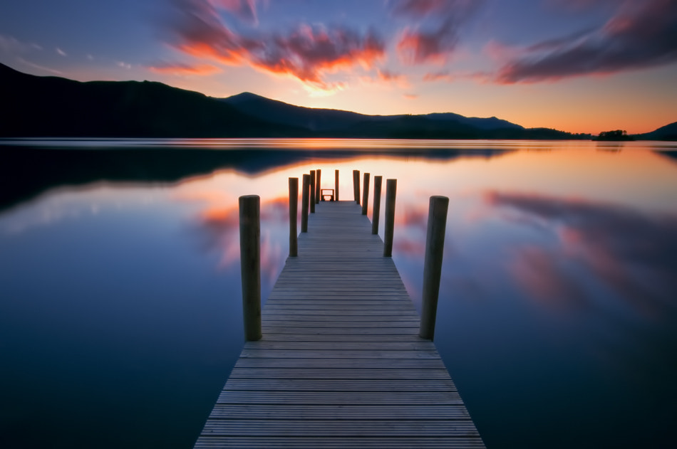 Photograph Sunset at Derwentwater by David Mar Quinto on 500px