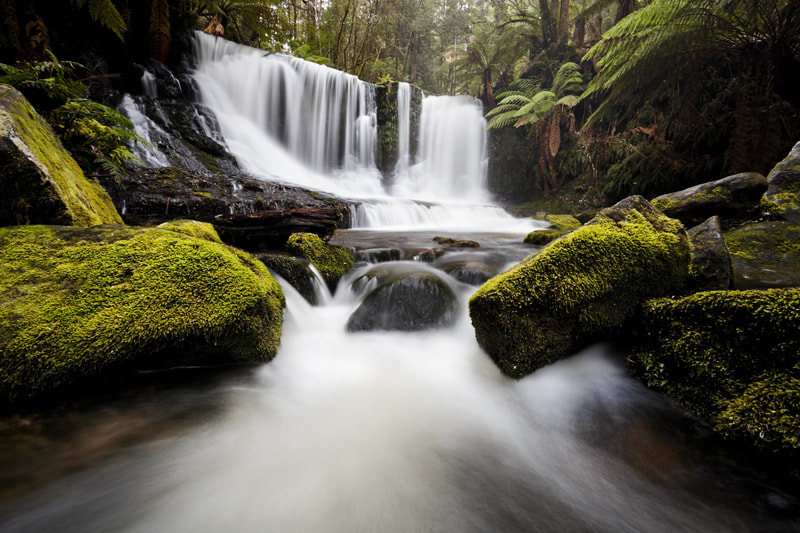 Photograph Horseshoe Falls, Mt. Field National Park, Tasmania. by Michael Gay on 500px