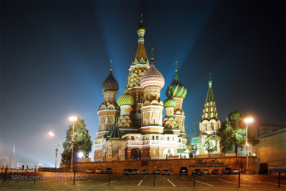 Photograph One Night in Moscow by Mato Bičvić on 500px