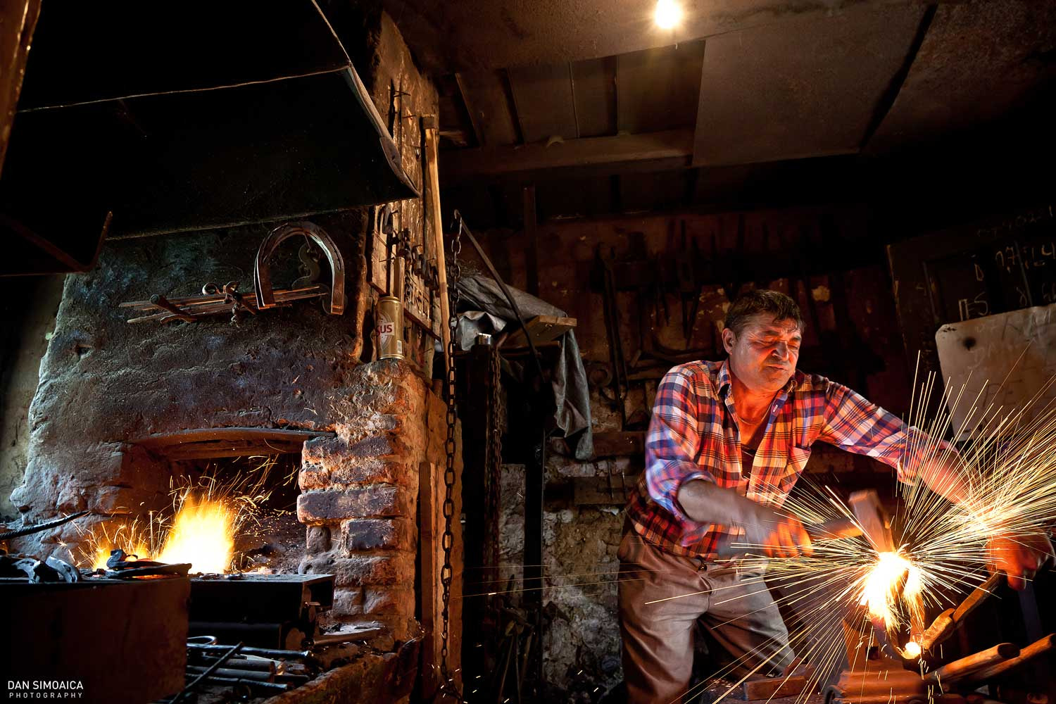 Photograph The Blacksmith by Dan Simoaica on 500px