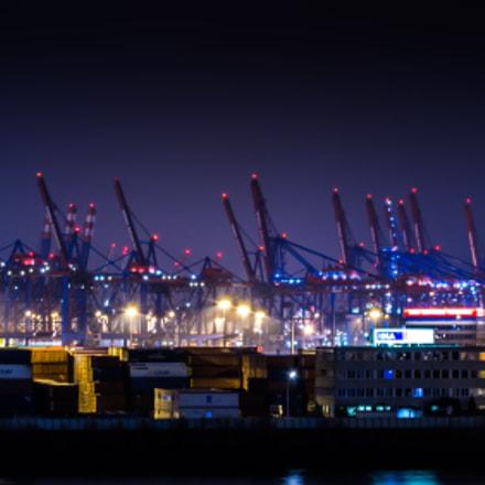 Container Terminal form Hamburg