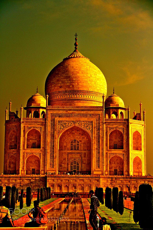 Photograph Taj Mahal by Sudeep Devkota on 500px