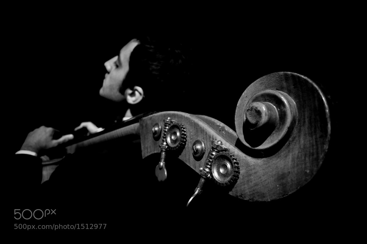 Photograph double bass player by volkan kovancısoy on 500px