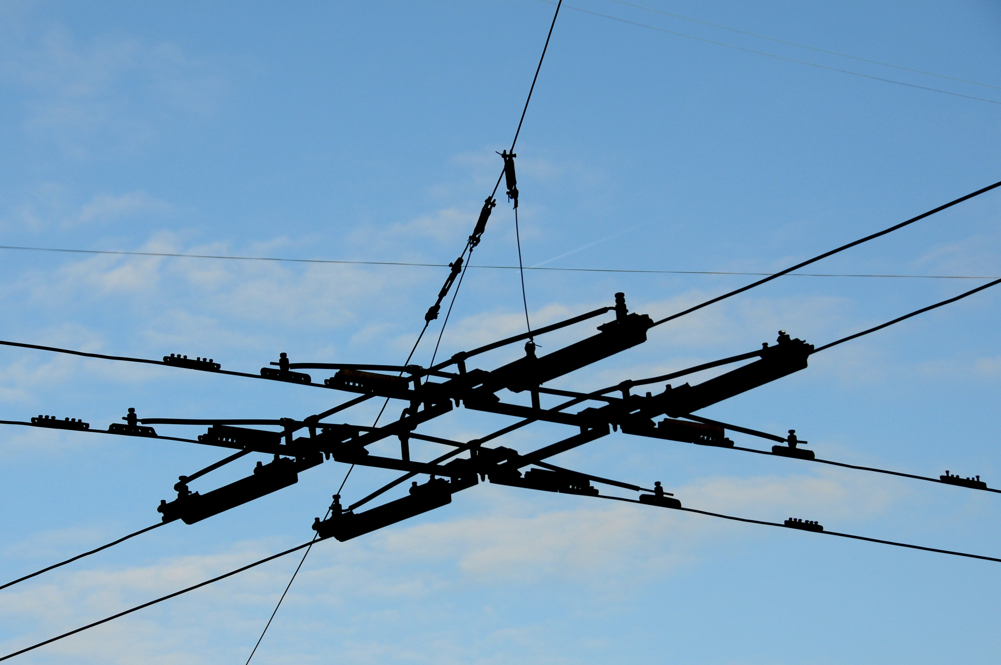 Photograph Crossed Wires by Mike Johnson on 500px