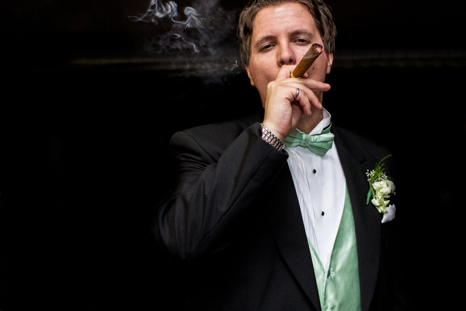 Photograph Smoking by Christine  Dumont on 500px