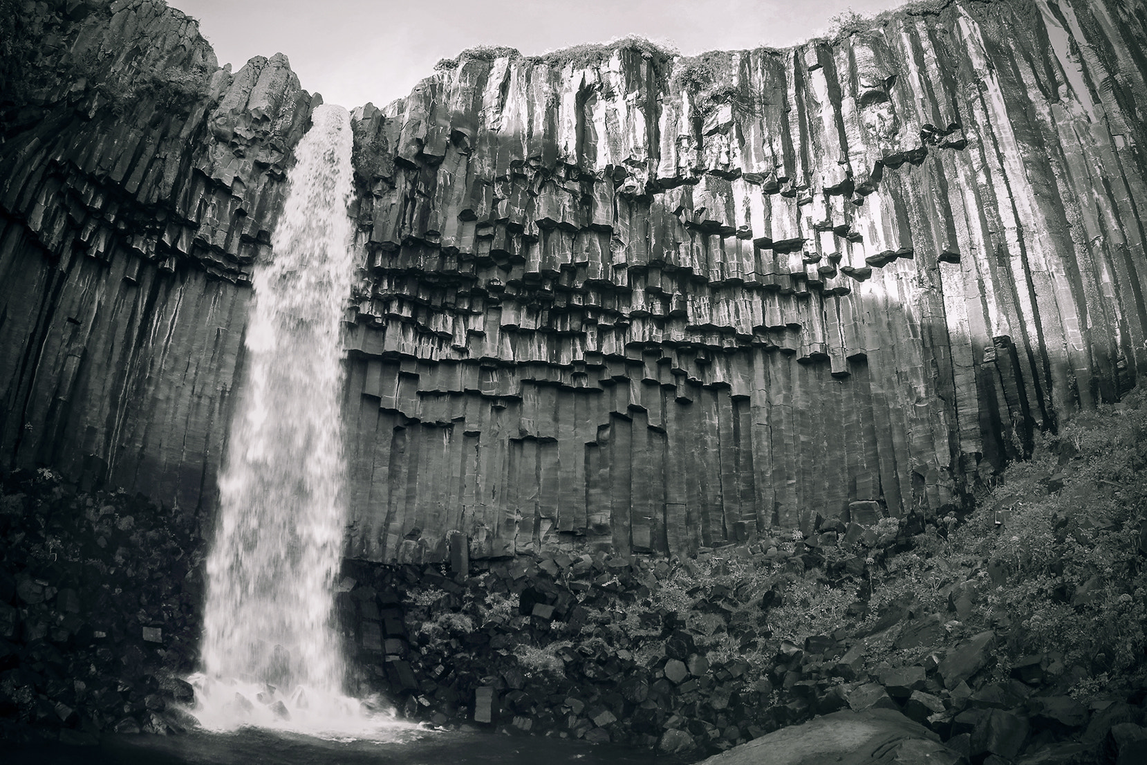 Photograph Svartifoss by Evan McAlister on 500px
