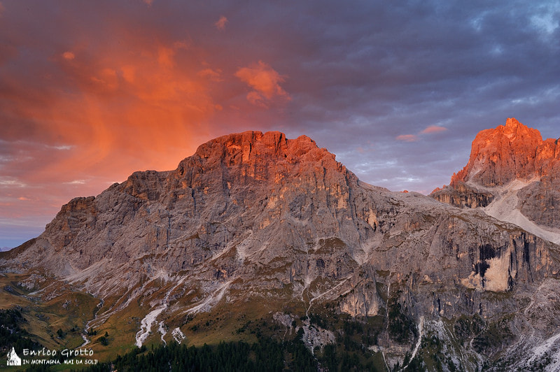 Photograph Light Painted | Dolomites by Enrico Grotto on 500px